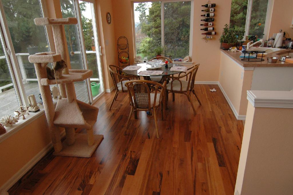 Hardwood Floor Refinishing West Seattle
